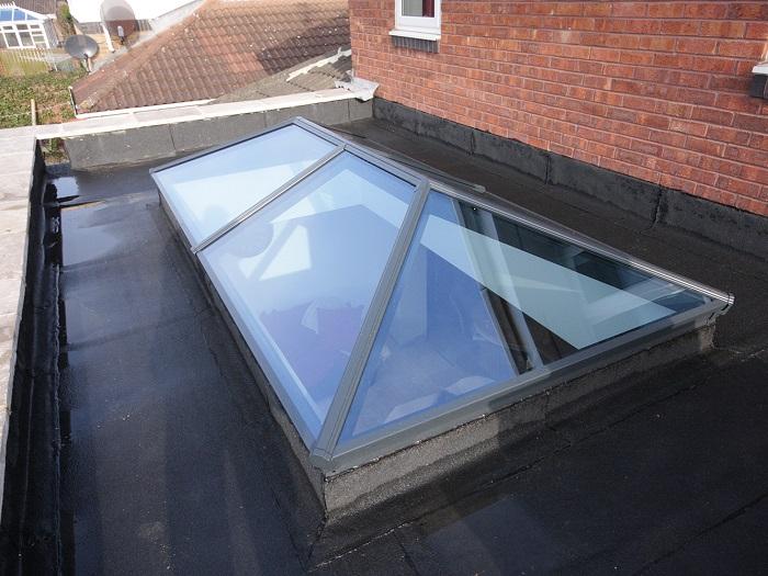 Korniche Rectangular Glass Roof Lantern Roof Lanterns Uk