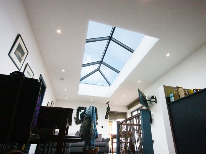 Korniche Rectangular Glass Roof Lantern Roof Lanterns Uk