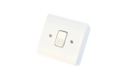 Retractive switch to suit 240v electric hinged unit