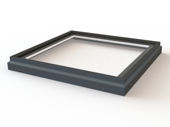 Flat Fixed Toughened Glass Rooflight
