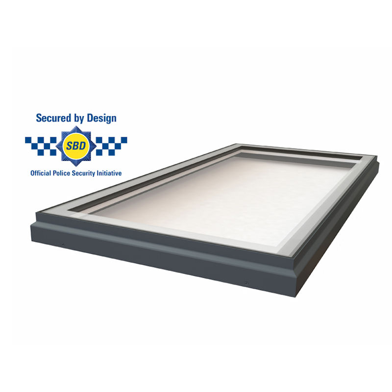 Astroglaze Flat Fixed Secured By Design Rooflight