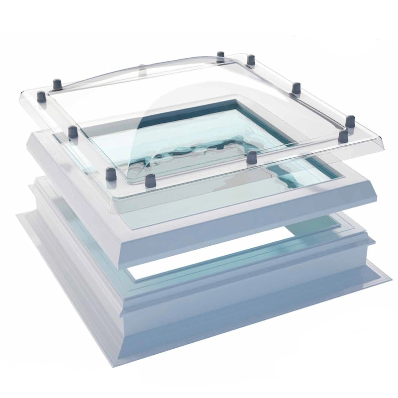 Coxdome Flat Rooflight With Dome