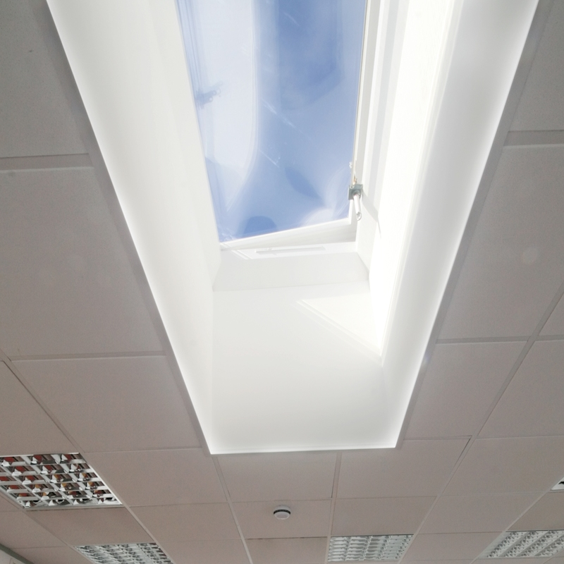 Mardome Trade Dome Rooflight Manual Hinged Vent
