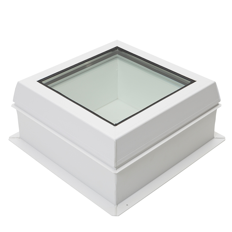 Lunaglaze Fixed Glass Rooflight with PVC Upstand